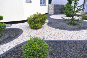 Front Yard Crushed Stone