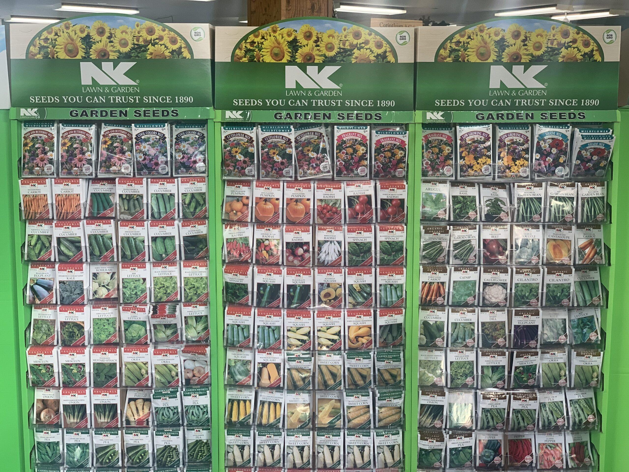 Dundee Nursery Seed Packets
